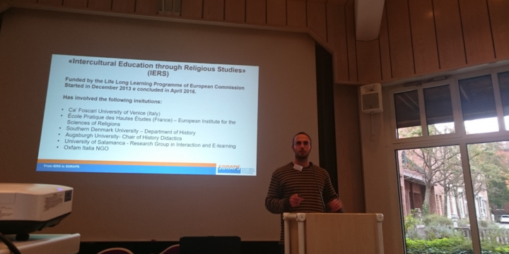 SORAPS Project presented during annual conference of the International Society for Historical and Systematic Research on Textbooks and Education Media E.V. in Augsburg