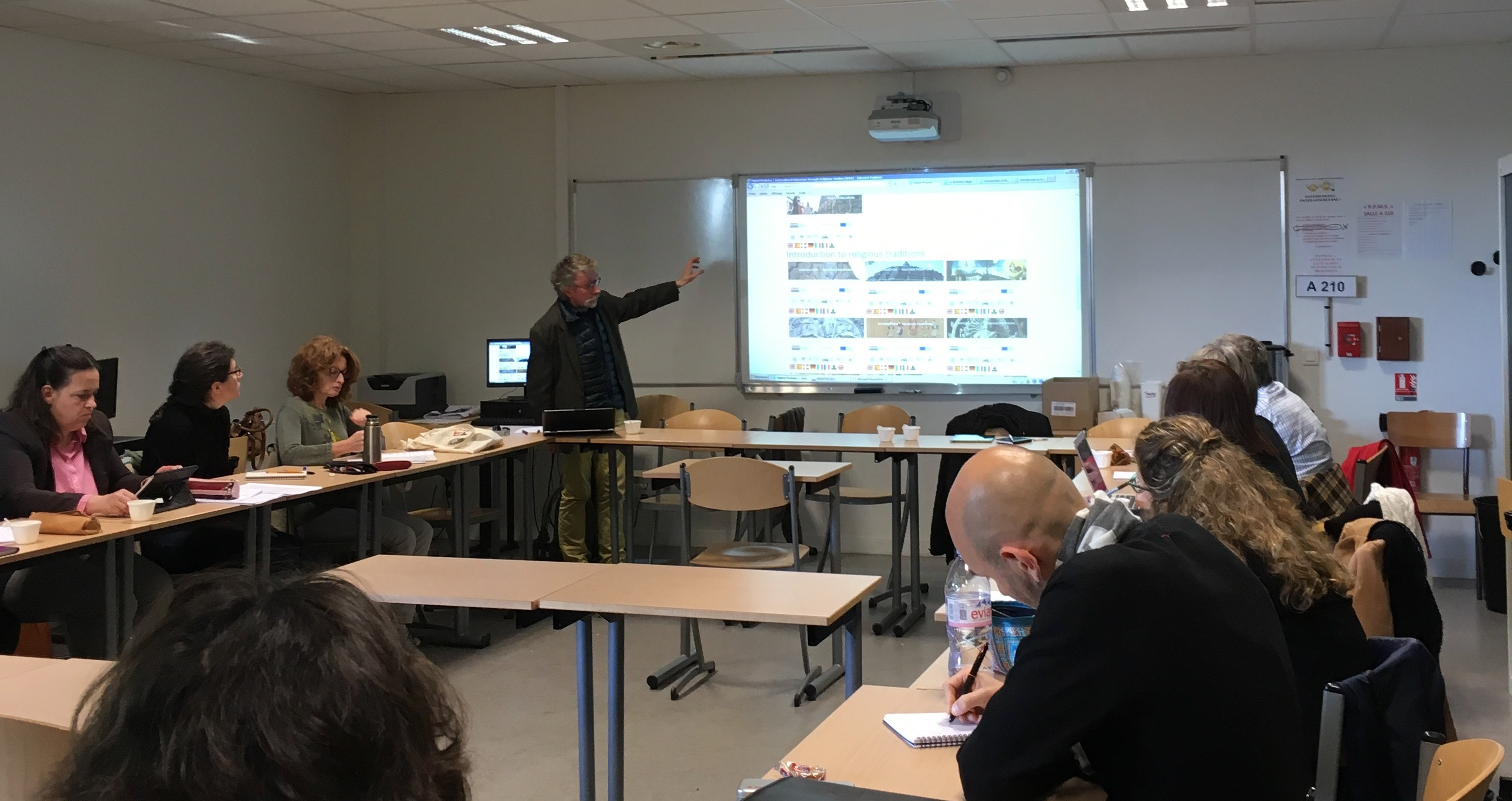 SORAPS Project Presentation at Lycée René Cassin Arpajon (France) in May 2018