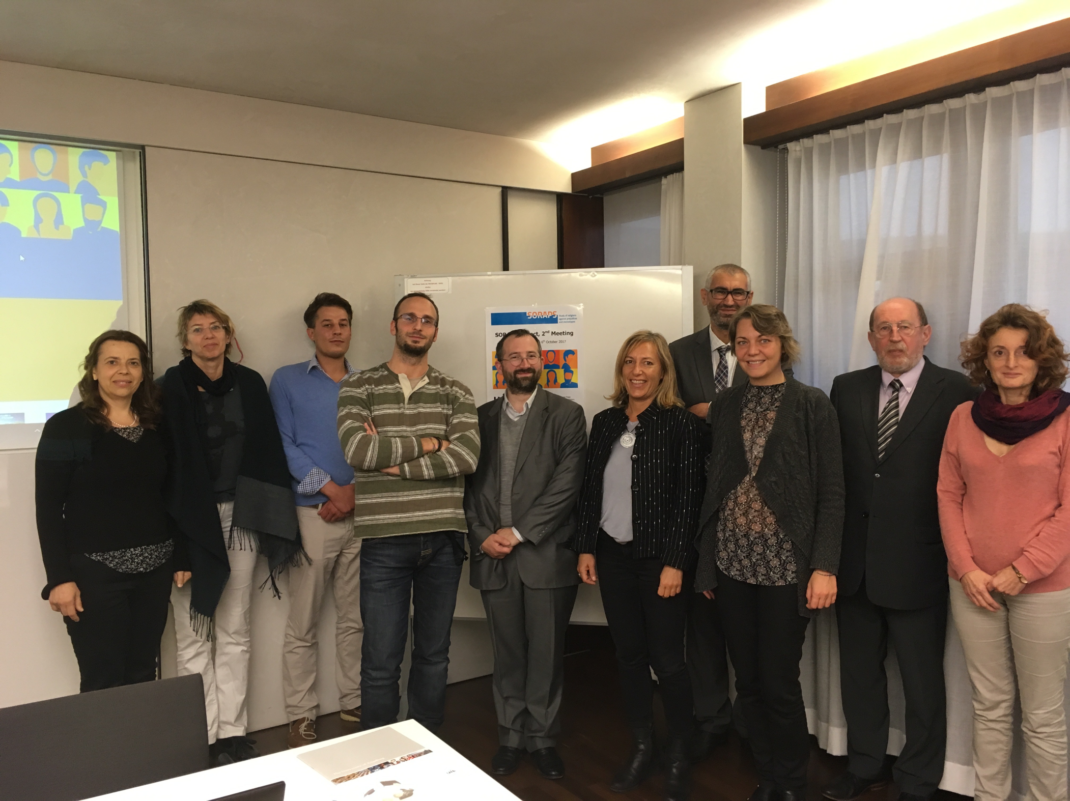 Report of the second SORAPS Project meeting Augsburg (Germany)