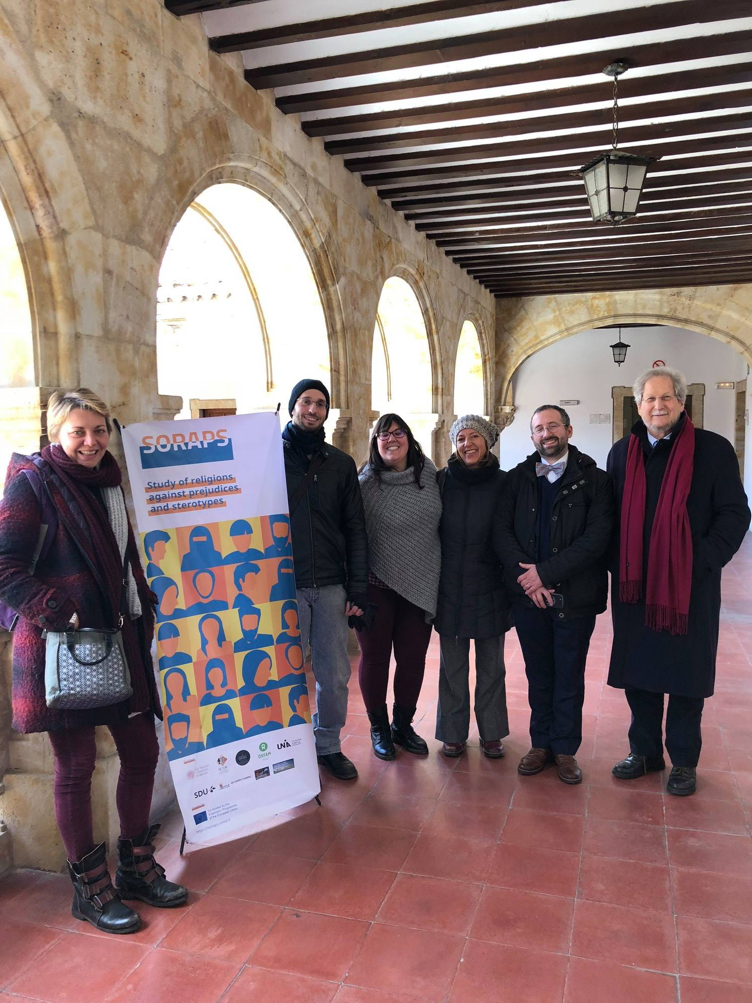 SORAPS 3rd General Project Meeting in Salamanca, Spain, April 2018