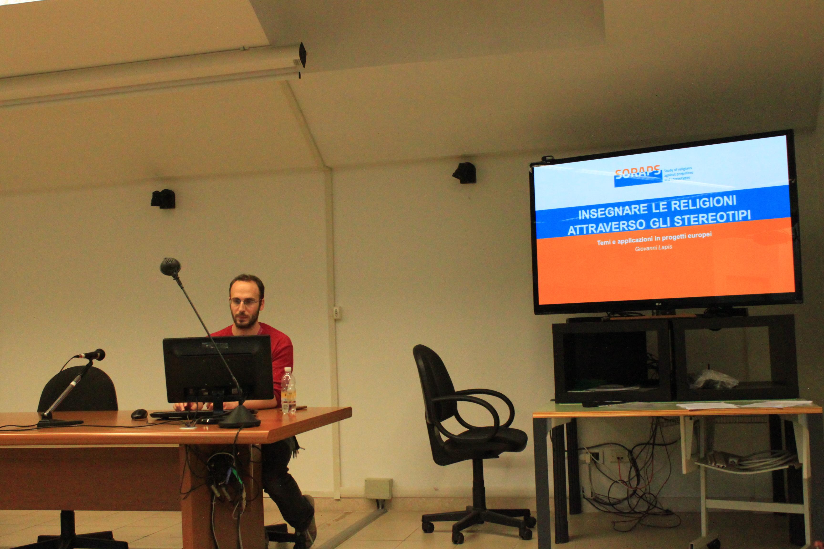 SORAPS Project Presentation at the Roma Tre University
