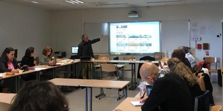 SORAPS Project Presentation at Lycée René Cassin Arpajon (France) in May 2018